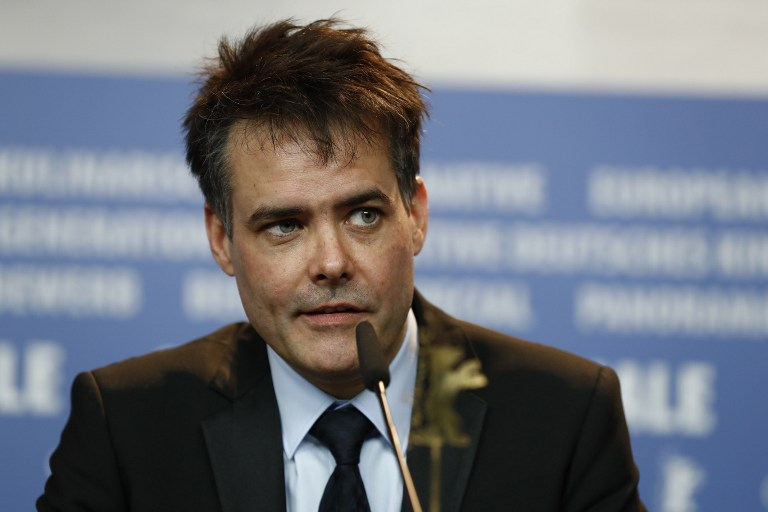 Sebastián Lelio en conferencia de prensa en el Festival de Cine de Berlín