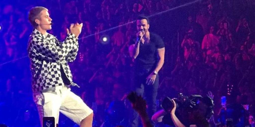 Justin Bieber y Luis Fonsi juntos en Puerto Rico
