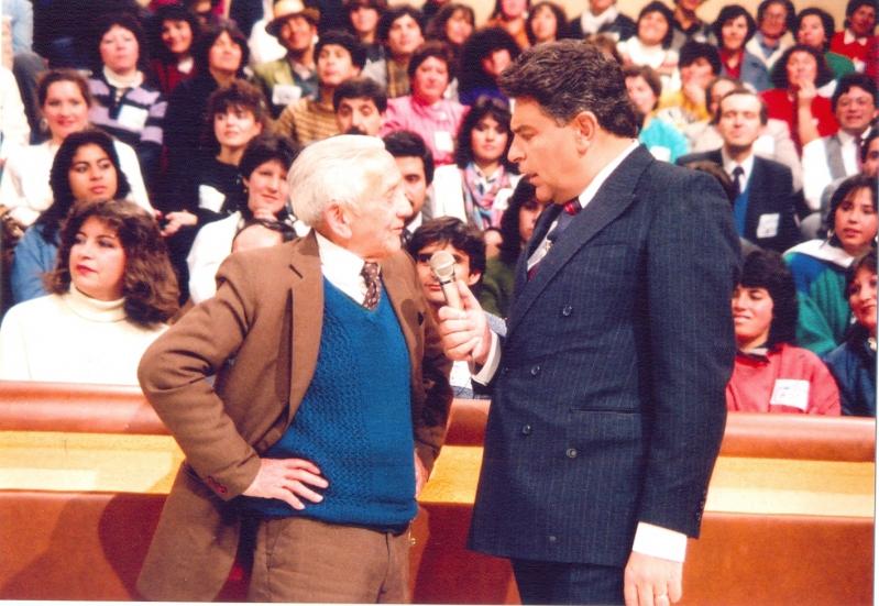"""Don Francisco en una clásica postal de """"Sábado gigante"""""""