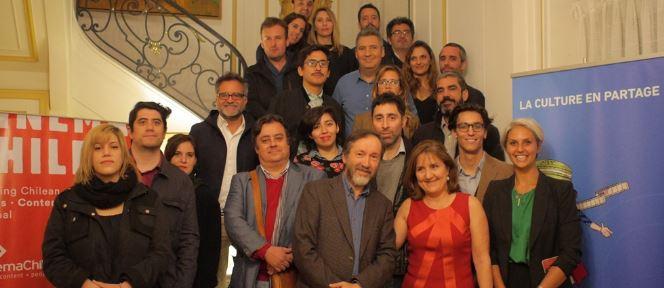 Parte de la delegación chilena que irá al Festival de Cannes