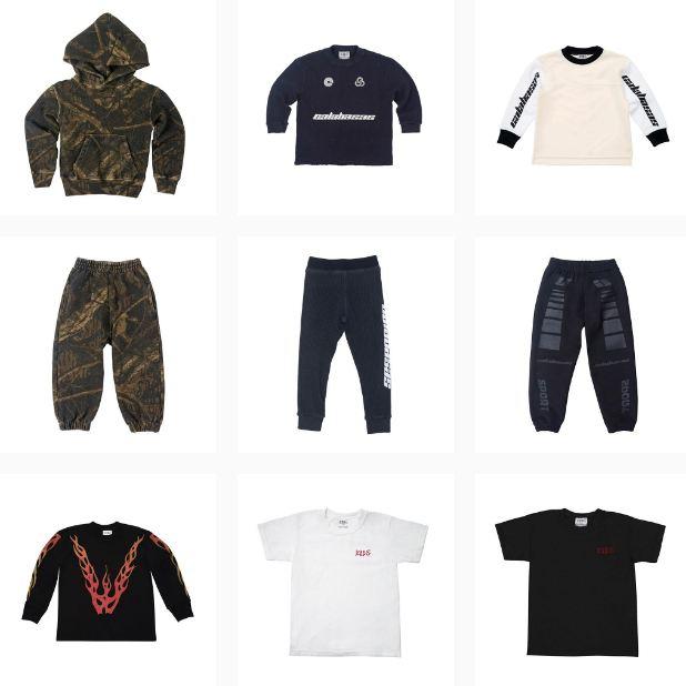"""9f1dee4e  """"Durante los últimos años, Kanye y yo hemos hecho casi toda la ropa de  North y Saint (sus hijos), por eso hemos colaborado en una nueva línea para  niños"""", ..."""