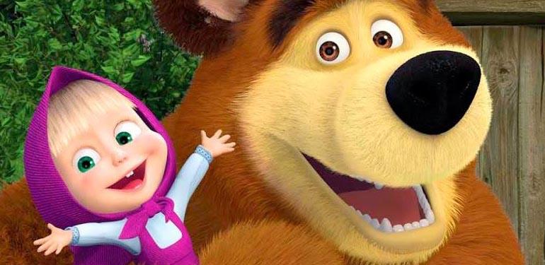 """""""Masha y el oso"""" llega a Chile con su show oficial"""