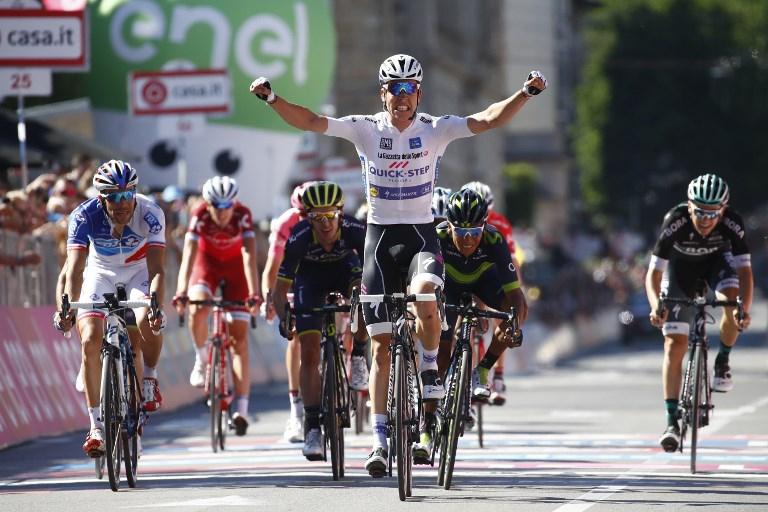 Dumoulin mantiene ventaja en el Giro