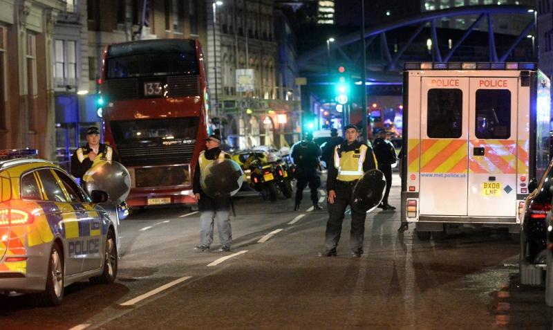 Siete muertos y decenas de heridos en doble atentado — Londres