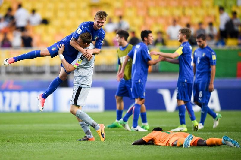 Italia-Inglaterra, la otra semifinal del Mundial Sub 20