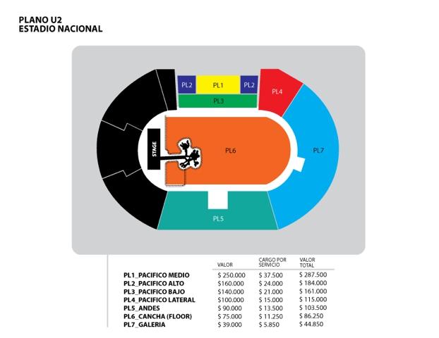 Tras desastre en la venta online, entradas de U2 cambiaron de ticketera