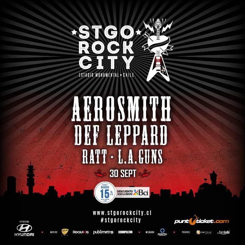 Ratt y LA Guns se suman a Stgo Rock City