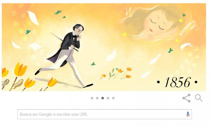 Victor Hugo y 'Los Miserables' reciben homenaje de Google