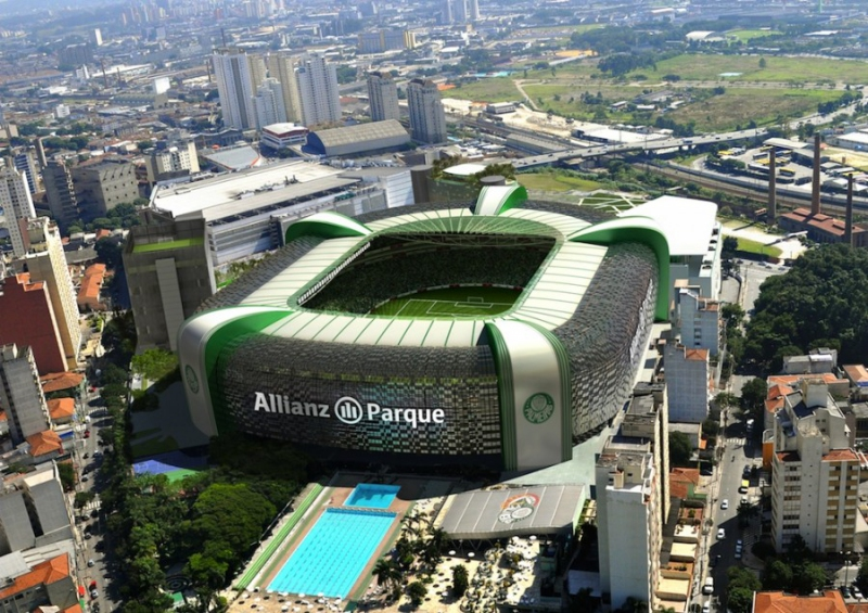 Brasil y Chile jugarán en el estadio de Palmeiras