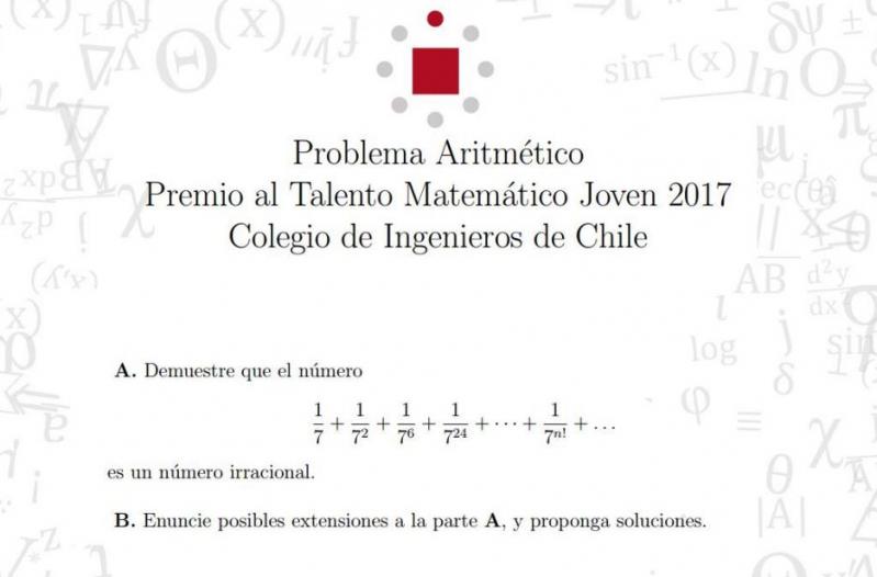 Concurso de matemáticas para jóvenes: premios hasta $6 millones ...