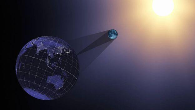 El eclipse será total en una franja de territorio en Estados Unidos, pero el eclipse parcial podrá ser observado desde el resto de América del Norte, y en partes del norte de Sudamérica, África y Europa.
