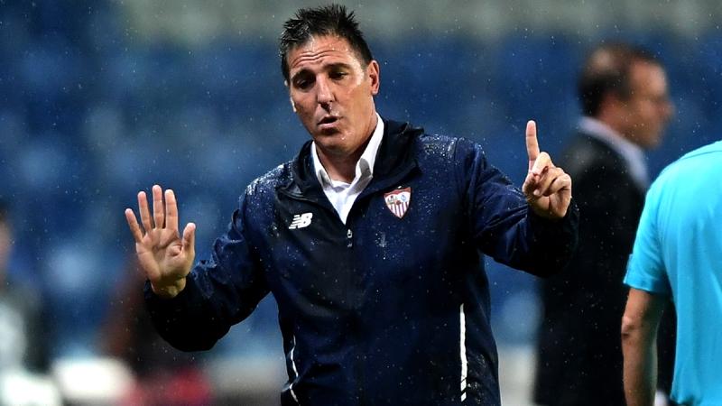 Berizzo se ilusiona con la Champions.     AFP
