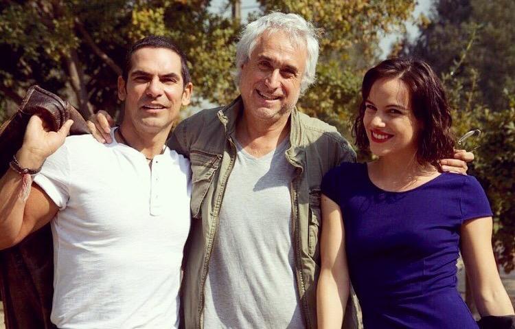 Armando Araiza, Gustavo Graef Marino y Luciana Echeverría