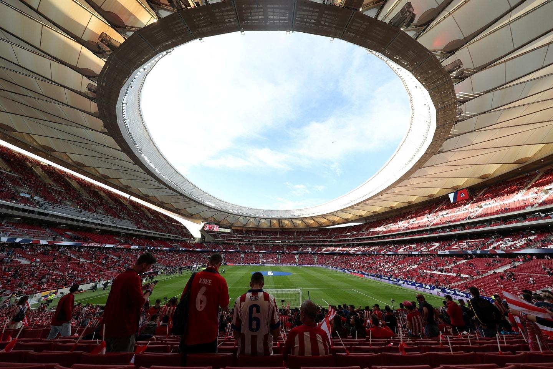 Final de copa del rey entre barcelona y sevilla se jugar for Puertas wanda metropolitano