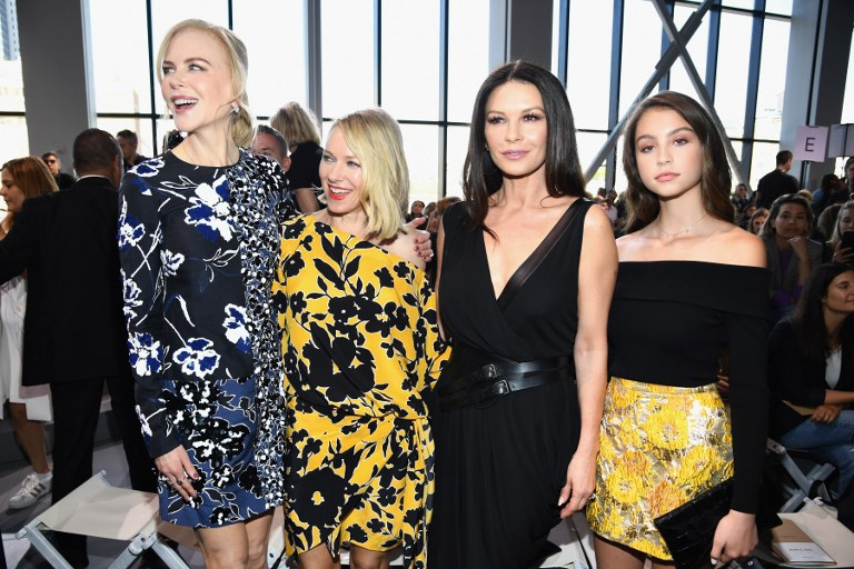 Carys y su madre llamaron la atención en su paso por la Semana de la Moda de Nueva York
