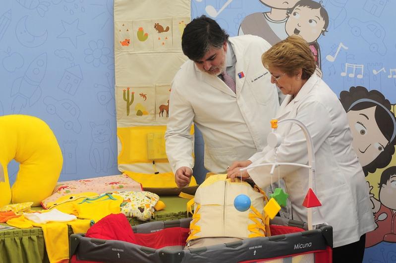 Las características del nuevo ajuar del programa Chile Crece Contigo