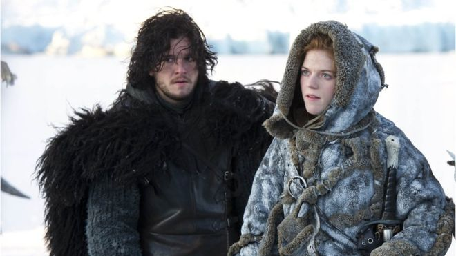 Se casan Jon Snow e Ygritte de Game of Thrones