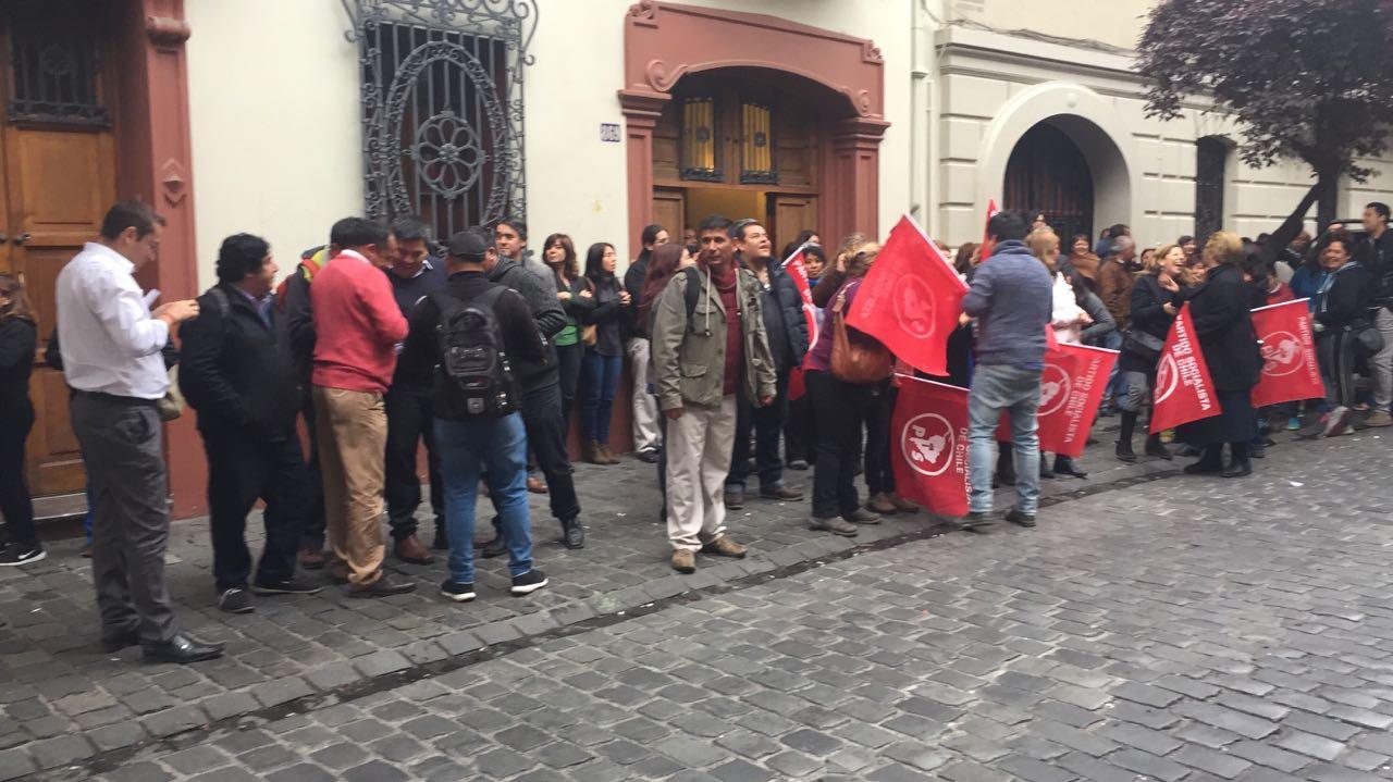 Alcalde de San Ramón renuncia al Partido Socialista — Narcoescándalo