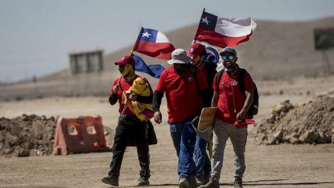 Una huelga en La Escondida ayudó a deprimir las exportaciones chilenas de cobre.