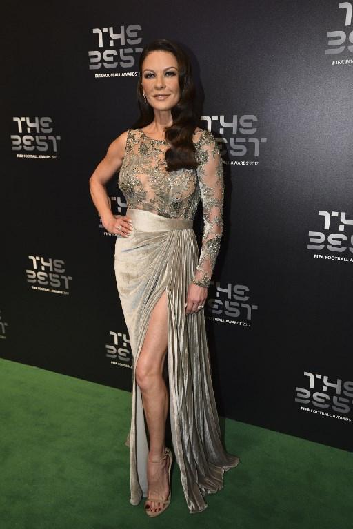 Catherine Zeta Jones y su imagen de octubre de 2017