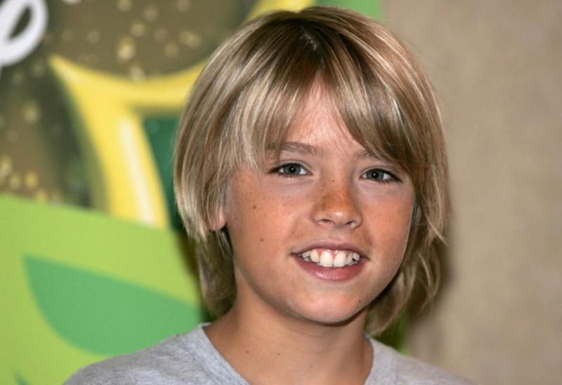 """Cole Sprouse en su époza de """"Zack & Cody gemelos en acción"""""""
