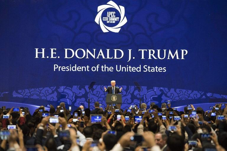 Trump - Apec