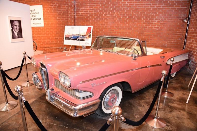 El modelo Edsel, de Ford.
