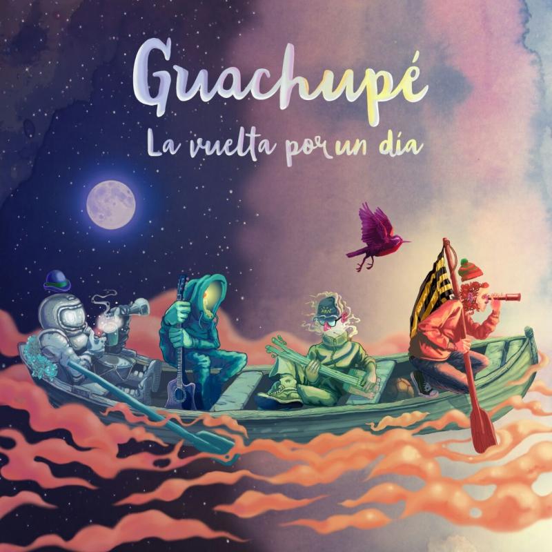 La portada del nuevo disco de Guachupé