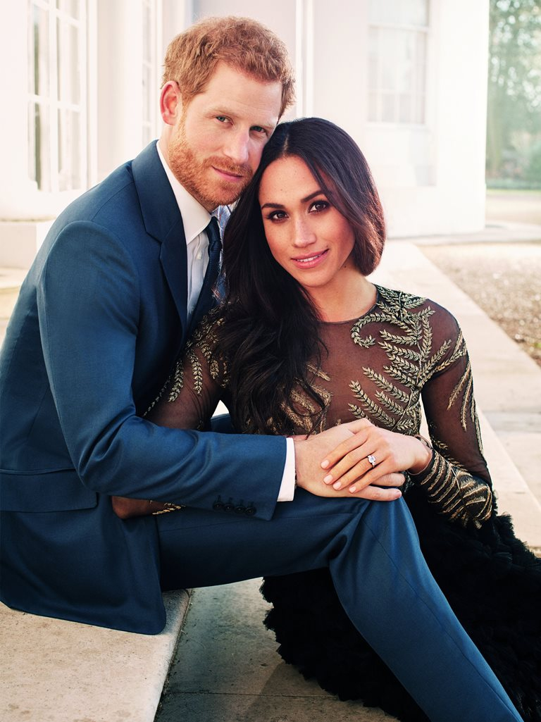 Príncipe Enrique y Megan Markle