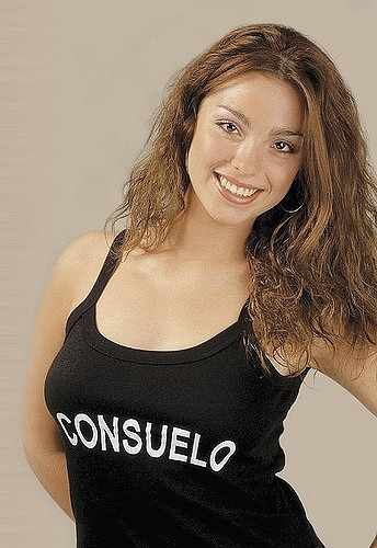 """Consuelo y la clásica polera de """"Protagonistas de la fama"""""""