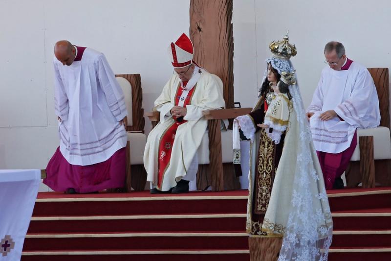 Citando a Violeta Parra: la mención del Papa al pueblo mapuche