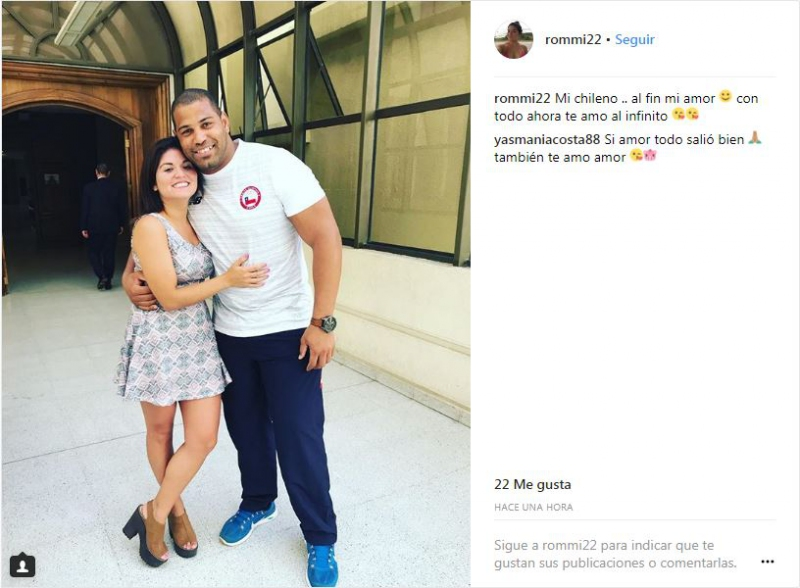 Yasmani Acosta ya es chileno