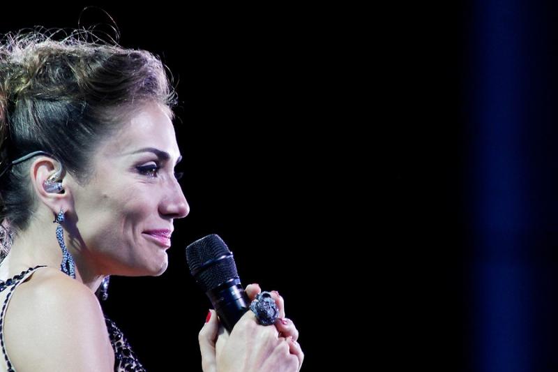 Carolina de Moras ha vivido variadas emociones en el Festival de Viña del Mar