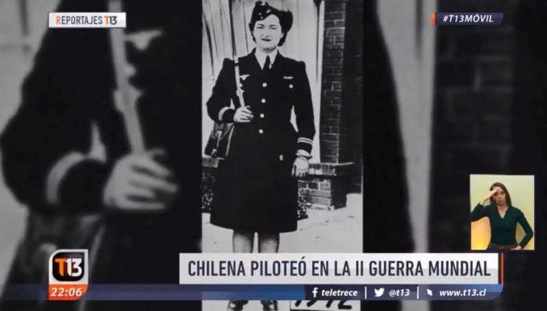 Murió Margot Duhalde, la piloto chilena que ayudó a las fuerzas francesas libres en la 2ª Guerra Mundial