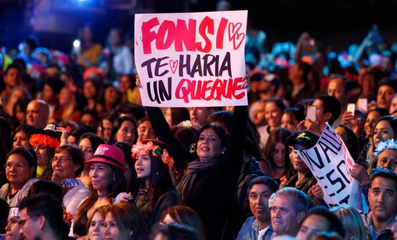Resultado de imagen para carteles luis fonsi viña 2018