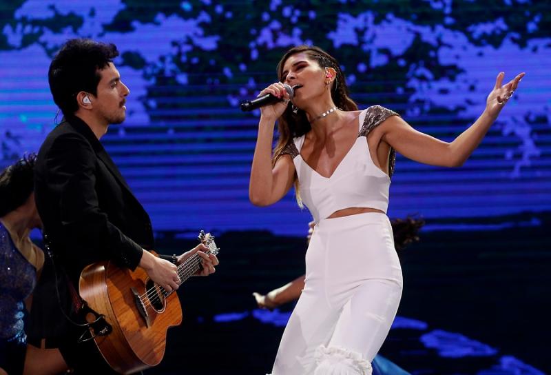 Mirella Cesa logró máxima puntuación en su presentación en Viña del Mar