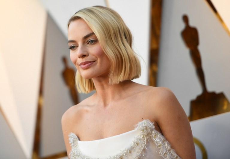 Margot Robbie en la alfombra roja de los Premios Oscar 2018