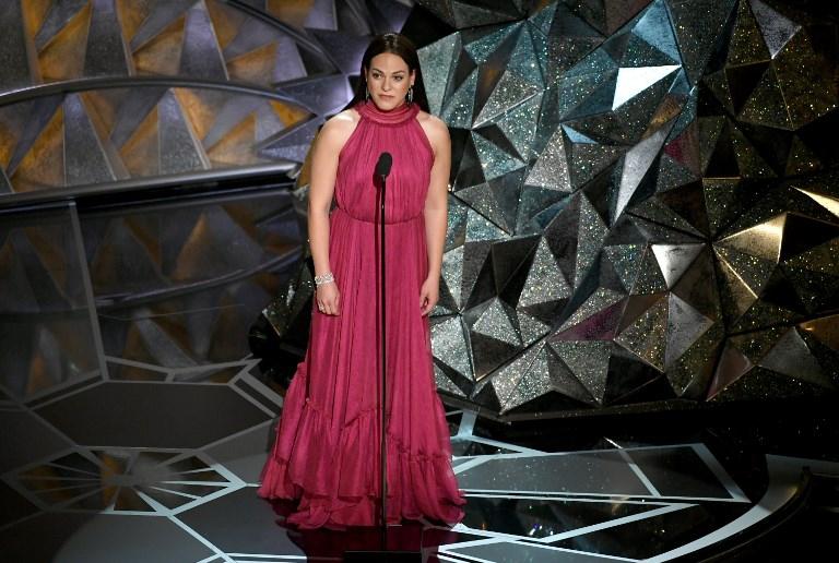 Daniela Vega en los Premios Oscar 2018