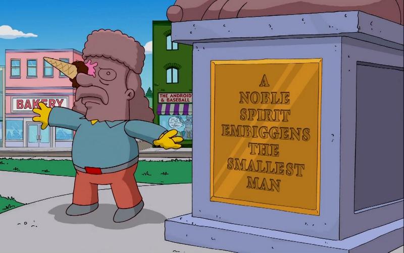 Entra al diccionario palabra inventada por Los Simpson
