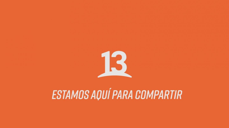 Esta es la nueva imagen corporativa del 13