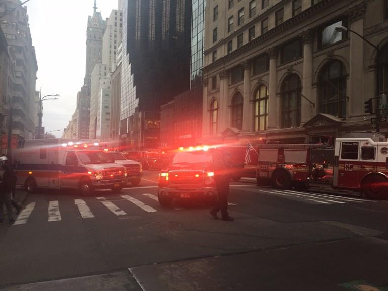 Se incendia la Torre Trump, en Nueva York
