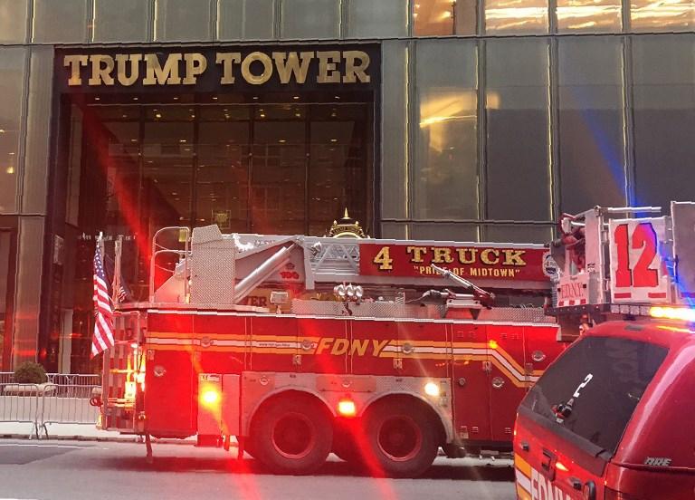 Se incendia Torre Trump; un herido grave