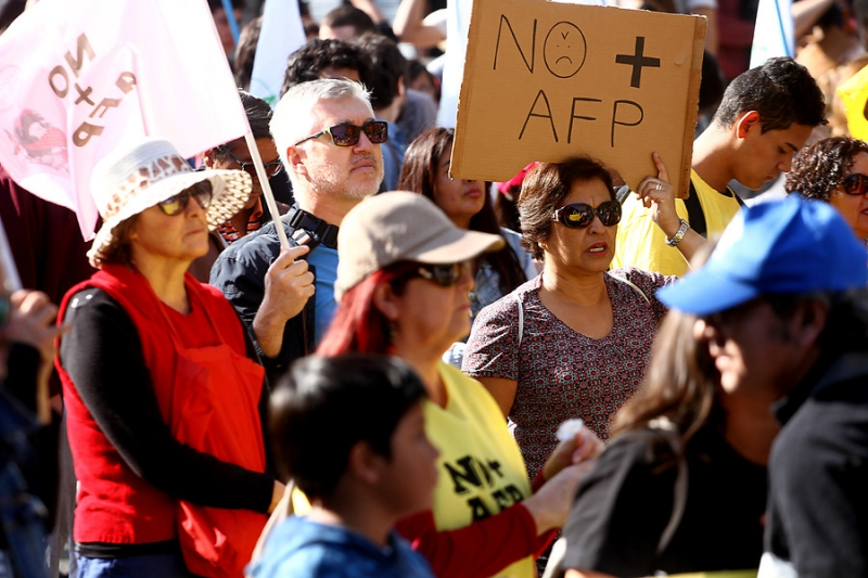 Movimiento No+AFP entrega detalles de la próxima marcha nacional