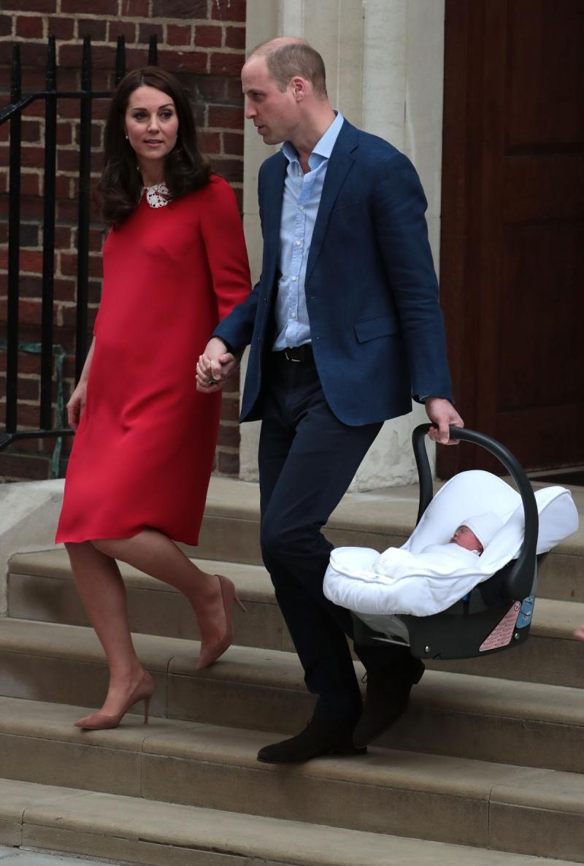Las primeras imágenes del tercer hijo entre William y Kate | Tele 13