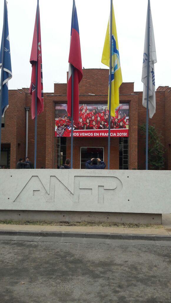 [VIDEO] ANFP reemplaza afiche de los bicampeones de América por uno de La Roja femenina