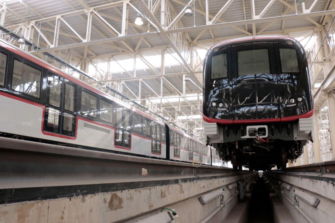 Futura estación Los Libertadores de la línea 3 del Metro de Santiago