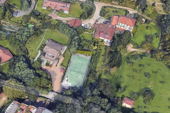 [FOTOS] La lujosa mansión en la que viviría Cristiano Ronaldo en Italia
