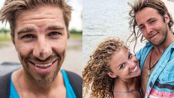 Famosos youtubers de viajes mueren tras caer por una cascada en Canadá