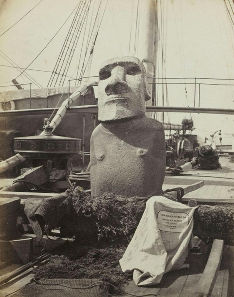 Chile buscará repatriar un moai de Isla de Pascua desde Londres