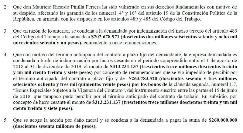 [VIDEO] La millonaria demanda de Mauricio Pinilla contra Universidad de Chile